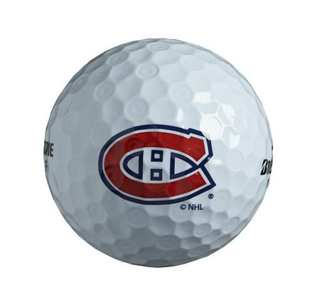 Montreal Canadiens Single Logo Golf Ball  p 831 on victory golf cart bag