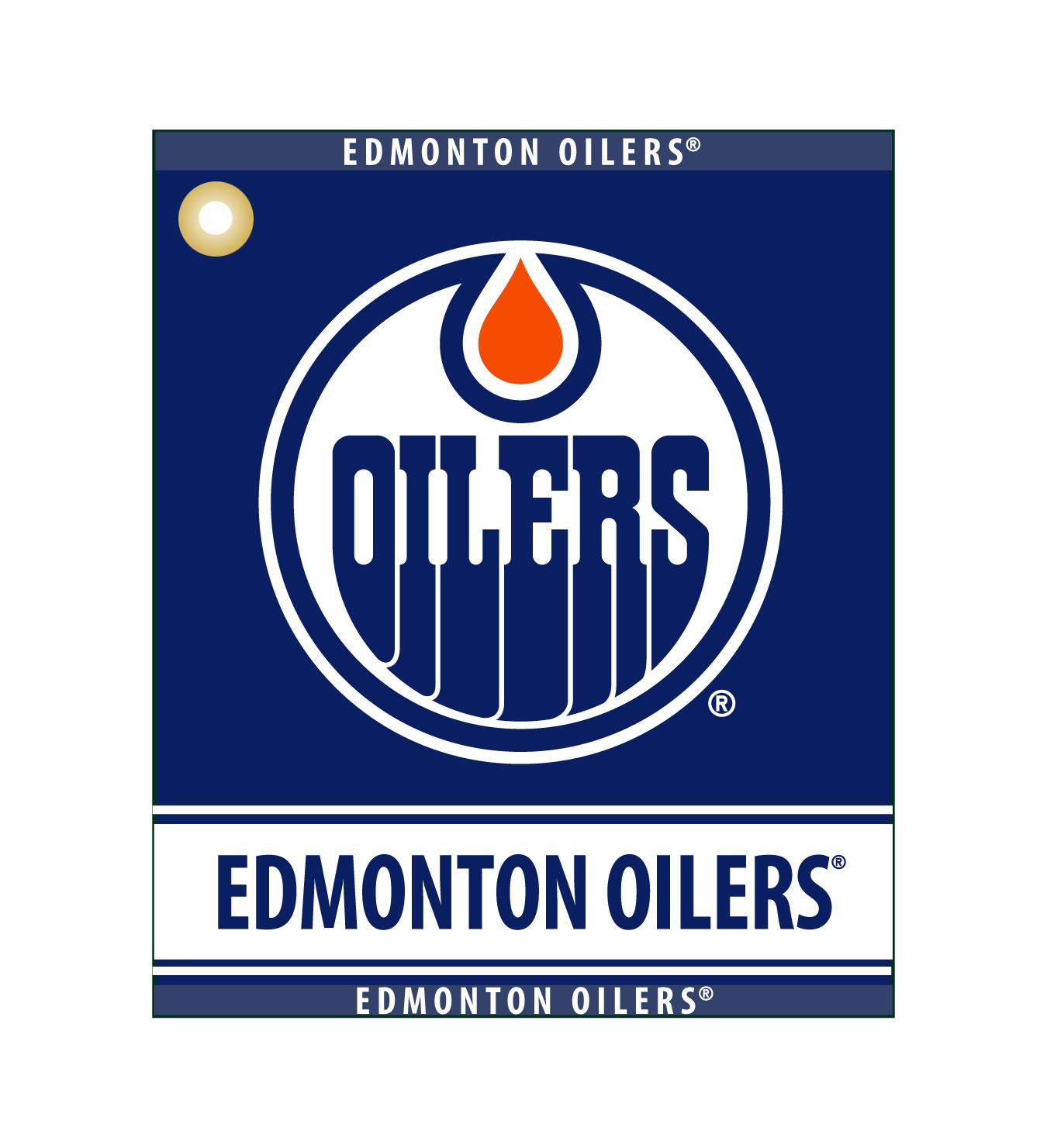 Edmonton Oilers Woven Towel