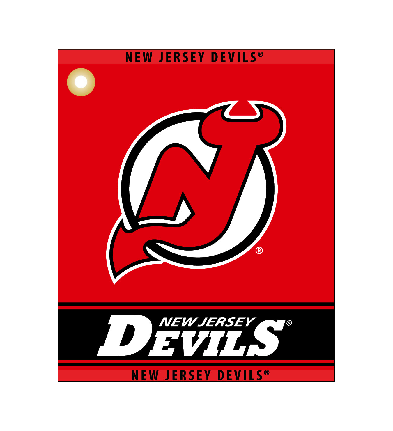 reputable site a8c24 e9a03 New Jersey Devils Woven Towel