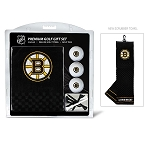 Boston Bruins Embroidered Towel Golf Gift Set