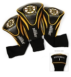 Boston Bruins Set of Three Contour Golf Headcovers