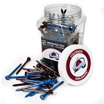 Colorado Avalanche NHL Golf Tees 175 Pack