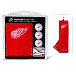 Detroit Red Wings Embroidered Towel Golf Gift Set