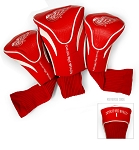 Detroit Red Wings Golf Headcovers Set of Three