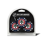 Florida Panthers Set of 3 Poker Chips