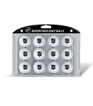 Los Angeles Kings Dozen Logo Golf Balls