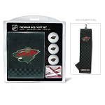 Minnesota Wild Embroidered Towel Golf Gift Set