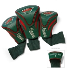 Minnesota Wild Set of Three Contour Golf Headcovers