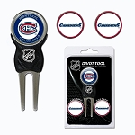 Montreal Canadiens Golf Divot Repair Tool Gift Set