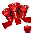 New Jersey Devils Golf Headcovers Set of Three