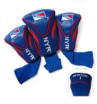 New York Rangers Golf Headcovers Set of Three