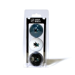 San Jose Sharks Golf Ball Sleeve