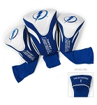 Tampa Bay Lightning Golf Headcovers Set of Three