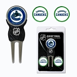 Vancouver Canucks Leafs Divot Tool Set