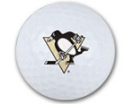 Pittsburgh Penguins Single Logo Golf Ball
