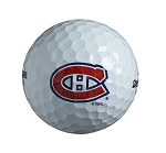 Montreal Canadiens Single Logo Golf Ball