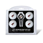 Arizona Coyotes 4 Ball Divot Tool Golf Gift Set