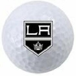 Los Angeles Kings Single Logo Golf Ball