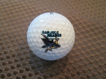 San Jose Sharks Single Logo Golf Ball
