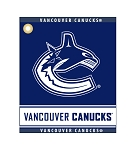 Vancouver Canucks Woven Towel