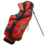 Washington Capitals NHL Team Golf Nassau Golf Stand Bag