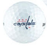 Washington Capitals Single Logo Golf Ball