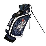 Winnipeg Jets NHL Team Golf Nassau Golf Stand Bag