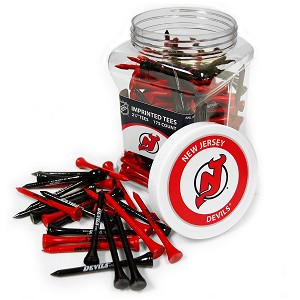 New Jersey Devils NHL Golf Tees 175 Pack