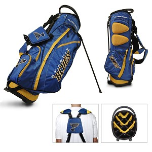 St Louis Blues NHL Golf Stand Bag