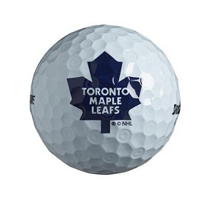 Toronto Maple Leafs Single Logo Golf Ball