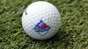 New York Rangers Single Logo Golf Ball