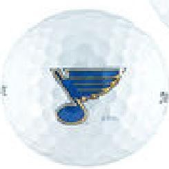 St. Louis Blues Single Logo Golf Ball