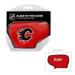 Calgary Flames Blade Golf Putter Cover