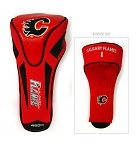 Calgary Flames Golf Driver Head Cover
