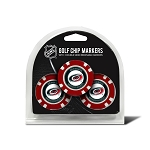 Carolina Hurricanes Set of 3 Poker Chips