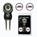 Chicago Blackhawks Divot Tool Set