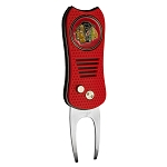 Chicago Blackhawks SwitchFix Golf Divot Tool