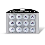 Colorado Avalanche Dozen Logo Golf Balls