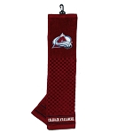 Colorado Avalanche Embroidered Golf Towel