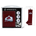 Colorado Avalanche Embroidered Towel Golf Gift Set