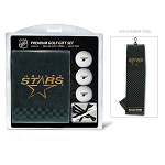 Dallas Stars Embroidered Towel Golf Gift Set