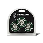 Dallas Stars Set of 3 Poker Chips