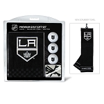 Los Angeles Kings Embroidered Towel Golf Gift Set