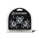 Los Angeles Kings Set of 3 Poker Chips