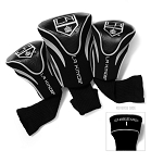 Los Angeles Kings Golf Headcovers Set of Three