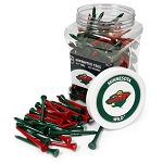Minnesota Wild NHL Golf Tees 175 Pack