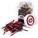 Montreal Canadiens NHL Golf Tees 175 Pack