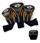 Nashville Predators Golf Headcovers Set of Three