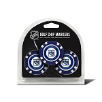 New York Rangers Set of 3 Poker Chips