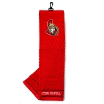 Ottawa Senators Embroidered Golf Towel